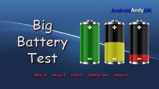 Big Battery Test 2014: Note 4 v OnePlus One v Nexus 6 (Moto G and Nexus 5 too!)