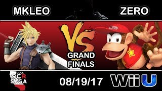 2GGC: SCR Saga - MVG Echo Fox | MKLeo (Cloud) Vs. TSM | ZeRo (Diddy Kong) - Grand FInals