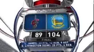 Cleveland Cavaliers vs Golden State Warriors - June 3, 2016