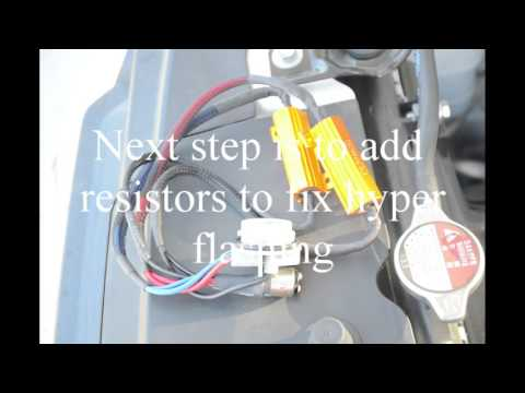 JDM ASTAR DIY Turn Signal & Resistor Install