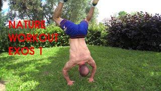 exos 1 Nature Workout muscu libre - Rphys#6 - L'esprit Viking