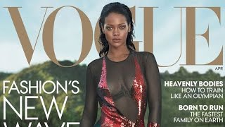 Rihanna Addresses Beyonce 'Rivalry' in Stunning Vogue Spread