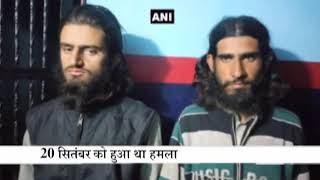 Police arrested two youths in an attack on SSB jawans in J&K