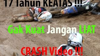 Crash Video Grasstrack  - Terjun Bebas | OtomotifZone