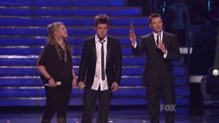 American Idol Season 9 - Lee DeWyze's winning moment & song