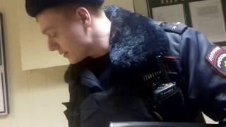 Полицейский беспредел. сотрудники ОМВД Ярославский г. Москвы