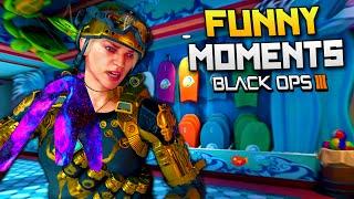 Black Ops 3 Funny Moments - Active Camo Killcam, Semtex, Mocking Teammates! (BO3)