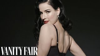 Dita Von Teese Reveals What She Loves About Lingerie—While Wearing It