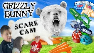 Grizzly Bunny Scare Cam! DEADLY BOX from ACTIVISION? (Skylanders Trap Team Go Pro Surprise 4 Kids)