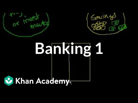 Banking 1 | Money, banking and central banks  | Finance & Capital Markets | Khan Academy
