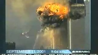 Live TV Footage Coverage of 9 11 Second Plane hit, Collapse of Towers World Trade Center