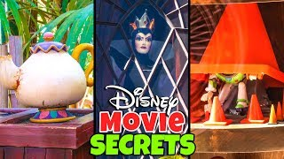Top 7 Hidden Secrets at Disneyland - Disney Movie References