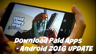 Download paid apps for free on Android - 2016 Update