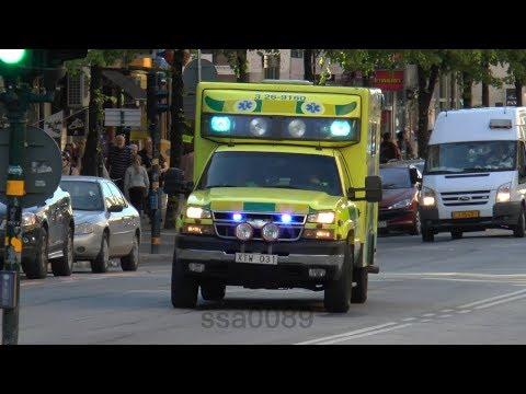 Ambulance 3 26 9160 Gävle in Stockholm SE 5.2014