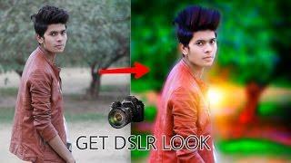 Get DSLR Look on PicsArt || Picsart editing tutorial || Taukeer Editz