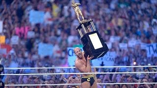 Cesaro wins the first-ever Andre the Giant Memorial Battle Royal: WrestleMania 30
