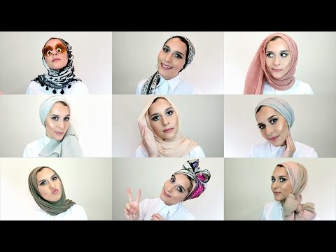 Xxx Mp4 20 SIMPLE HIJAB STYLES TUTORIAL 3gp Sex
