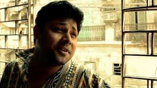 Pran chai chokkhu na chay by Saurav Goswami (Rabindra sangeet selfie video) with lyrics