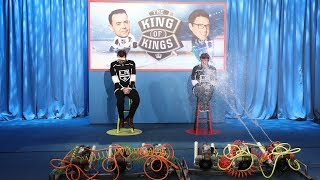 Colin Hanks and Andy Face-Off in L.A. Kings Trivia
