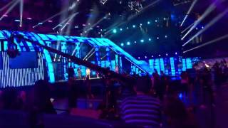 Fifth Harmony - Worth It / Dame Esta Noche rehearsal for Premios Juventud 7/16/2015