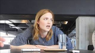Holliday Grainger on What Robin Likes About Strike
