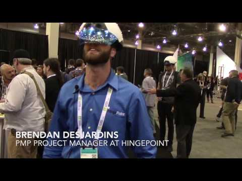 DAQRI Showcased Virtual Reality  Smart Helmet at Autodesk University