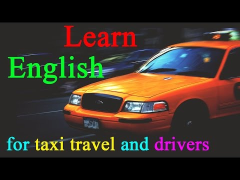 Learn English through Hindi Urdu - English sentences for taxi travel and taxi drivers