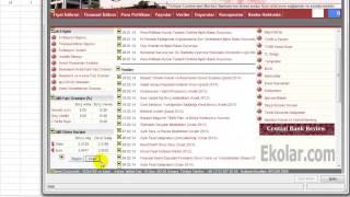 Excel Döviz Kuru Aktarma - Excel
