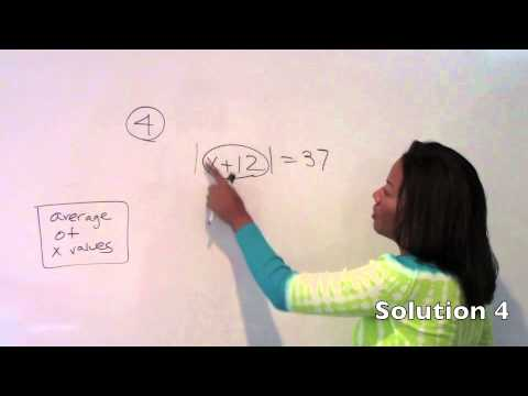 GRE Equations and Inequalities- Chapter 6 Solutions- GRE Math Simplified