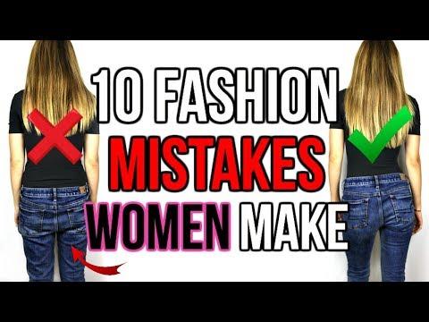 Xxx Mp4 10 FASHION MISTAKES WOMEN ALWAYS MAKE Shea Whitney 3gp Sex
