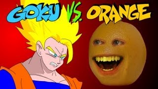GOKU vs ANNOYING ORANGE - a UCF BONUS ROUND