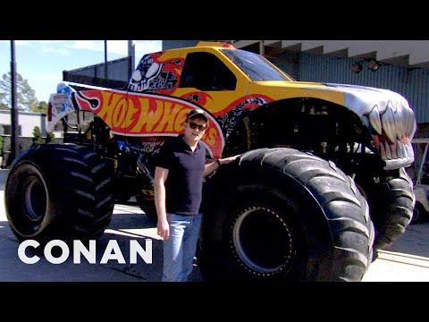 Conan Drives Monster Trucks CONAN on TBS