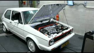 Dyno VW Golf I 1.8L G60 16V 264hp
