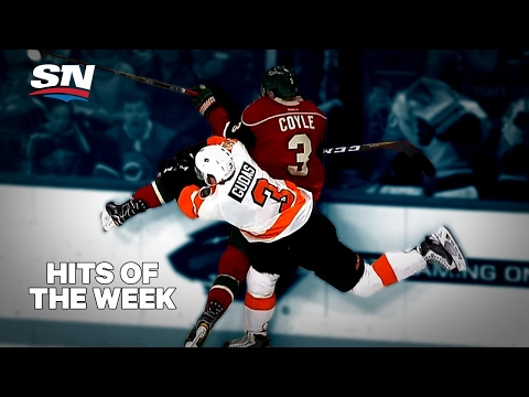 Hits of the Week A little old time hockey