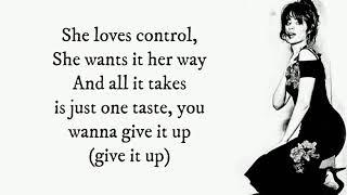 Camila Cabello  She Loves Control Lyrics 4k