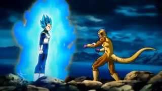 Vegeta Super Saiyan God SS Vs Golden Frieza Full Fight English Dubbed