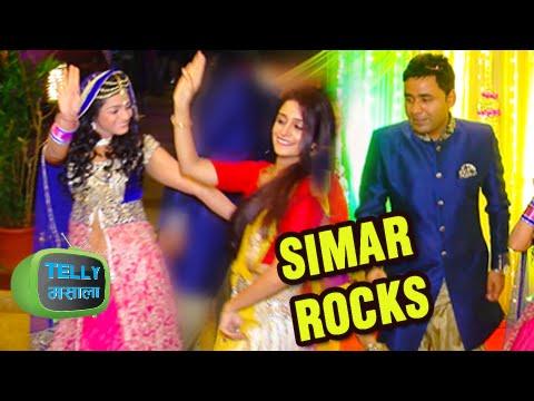 Deepika Samson Aka Simar Dances At Jyotsana Nitesh Sangeet Function