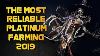 Warframe: MOST RELIABLE PLATINUM FARMING METHOD 2019