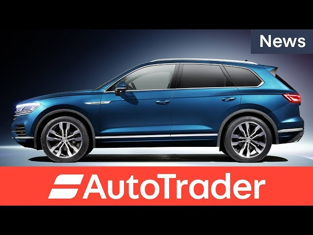 Say hello to the 2018 Volkswagen Touareg
