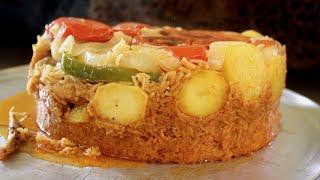 مقلوبة الدجاج [ المطبخ العراقي ] Chicken Maqlooba