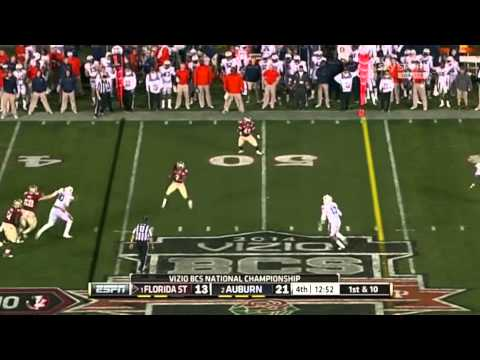Florida State wins the 2014 BCS National Championship Highlight Video