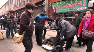 Residents Living on China-N. Korea Border Await Calmer Times