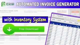 Excel Invoice System w/ Inventory System ( FREE DOWNLOAD )