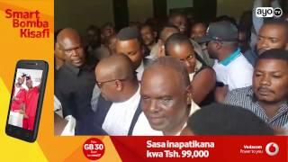 Mbunge Godbless Lema baada ya kuachiwa kwa dhamana