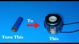 How to make 15V AC motor run smoothly