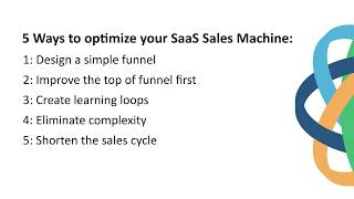5 Ways To Optimize SaaS Sales Machine By @Steli From Close.io