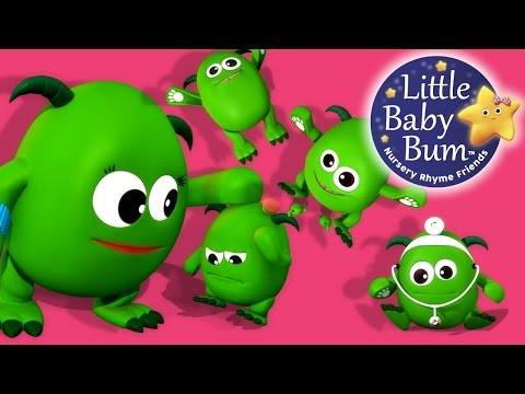 Little Baby Bum Monkeys Jumping On The Bed