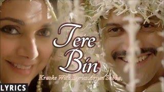 Tere Bin,Karaoke With Lyrics,,