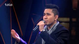 مصطفی هنرجو - میهن - اعلان نتایج ۶ بهترین / Mustafa Hunarjoo - Maihan - Top 6 Elimination