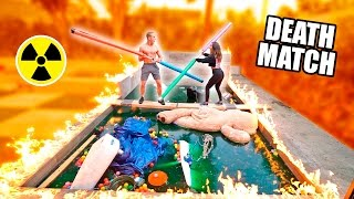 GLADIATOR DEATHMATCH OVER OUR TOXIC POOL (Don't Fall In)